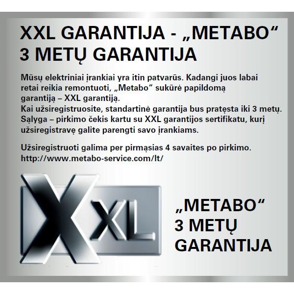 Akumuliatorinis gręžtuvas-suktuvas Metabo PowerMaxx 12 Basic su 63 priedais