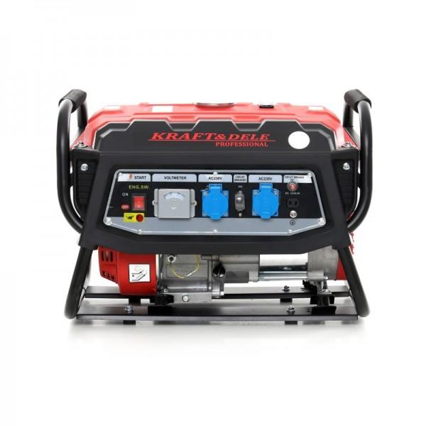 Benzininis generatorius KRAFTDELE 3000W 230V