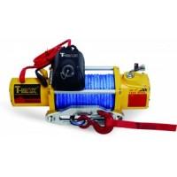 Elektrinė gervė 12V 9500Lbs (Sintetinis lynas)