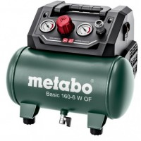 Betepalinis kompresorius Metabo Basic 160-6 W OF oil free