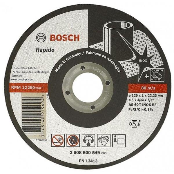 Pjovimo diskas Bosch A60 W BF 41 Ø115x1 mm