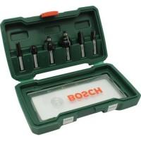 6 dalių frezų komplektas Bosch 8mm