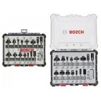 Frezų medienai rinkinys Bosch 8mm 15vnt
