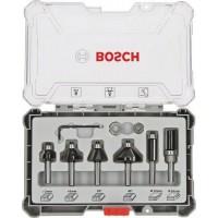 Frezų rinkinys Bosch Trim&Edging 8 mm 6vnt