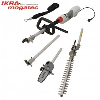 Elektrinė aukštapjovė gyvatvorėms ir genėjimo pjūklas 1000W Ikra Mogatec IECH 1000