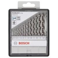 Grąžtų komplektas metalui Bosch HSS-G 13 vnt