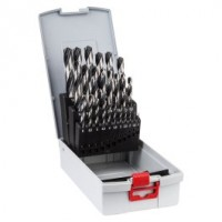 Grąžtų komplektas metalui Bosch PointTeQ 1-13 mm 25 vnt.